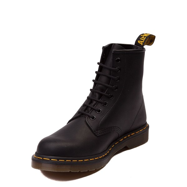 alternate view Dr. Martens 1460 8-Eye Greasy Boot - BlackALT3