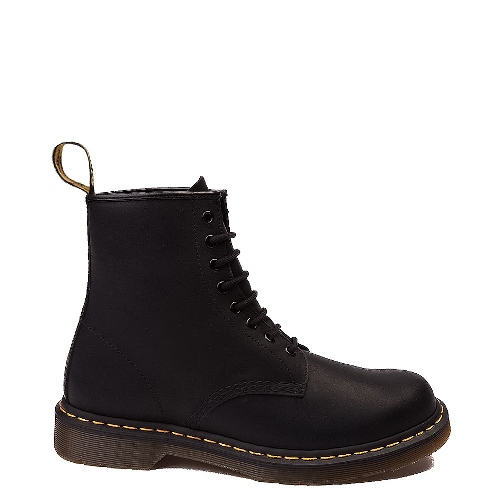 Dr. Martens 1460 8-Eye Greasy Boot - Black