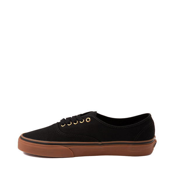 alternate view Vans Authentic Skate Shoe - Black / GumALT1