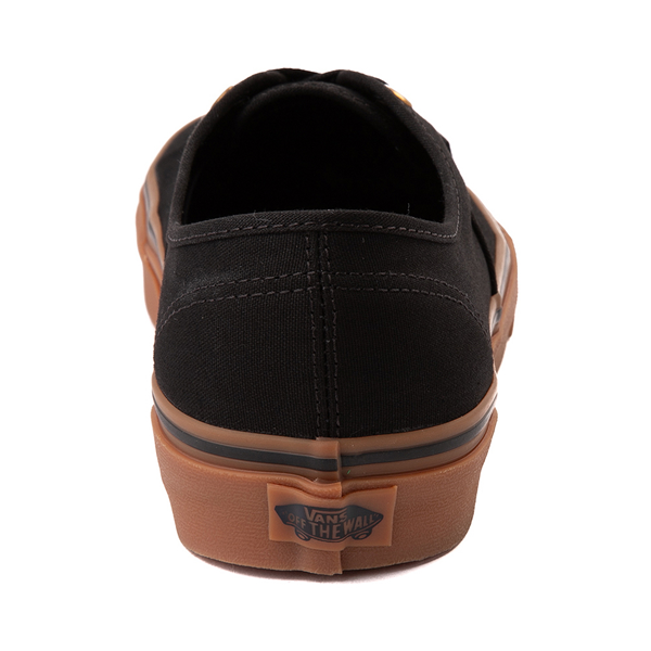 alternate view Vans Authentic Skate Shoe - Black / GumALT4