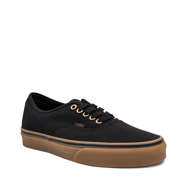alternate view Vans Authentic Skate Shoe - Black / GumALT5