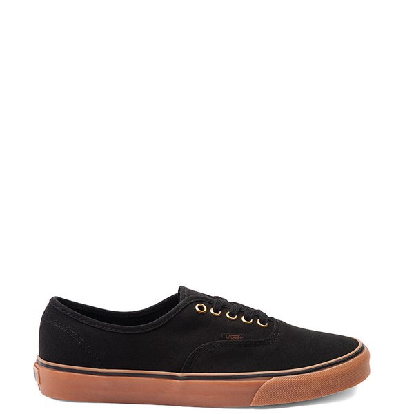 Main view of Vans Authentic Skate Shoe - Black / Gum