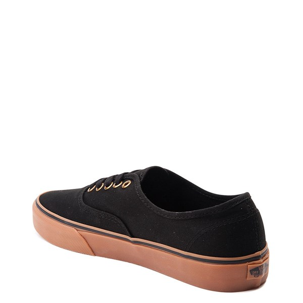alternate view Vans Authentic Skate Shoe - Black / GumALT2