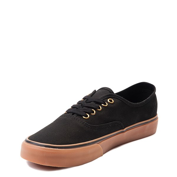 alternate view Vans Authentic Skate Shoe - Black / GumALT3