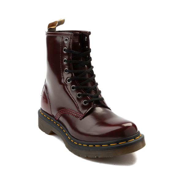 alternate view Womens Dr. Martens 1460 8-Eye Vegan Boot - RedALT5