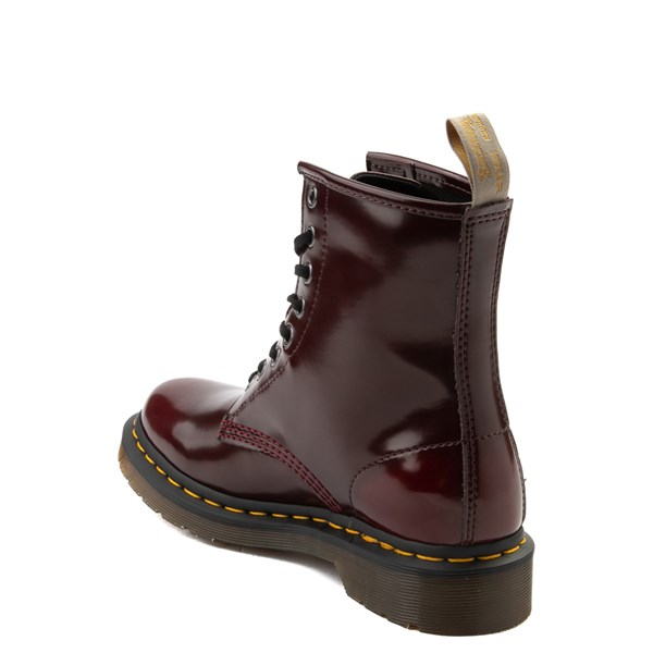 alternate view Womens Dr. Martens 1460 8-Eye Vegan Boot - RedALT2