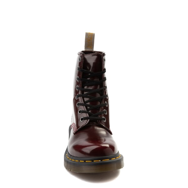 alternate view Womens Dr. Martens 1460 8-Eye Vegan Boot - RedALT4