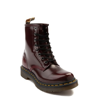 Alternate view of Womens Dr. Martens 1460 8-Eye Vegan Boot - Red
