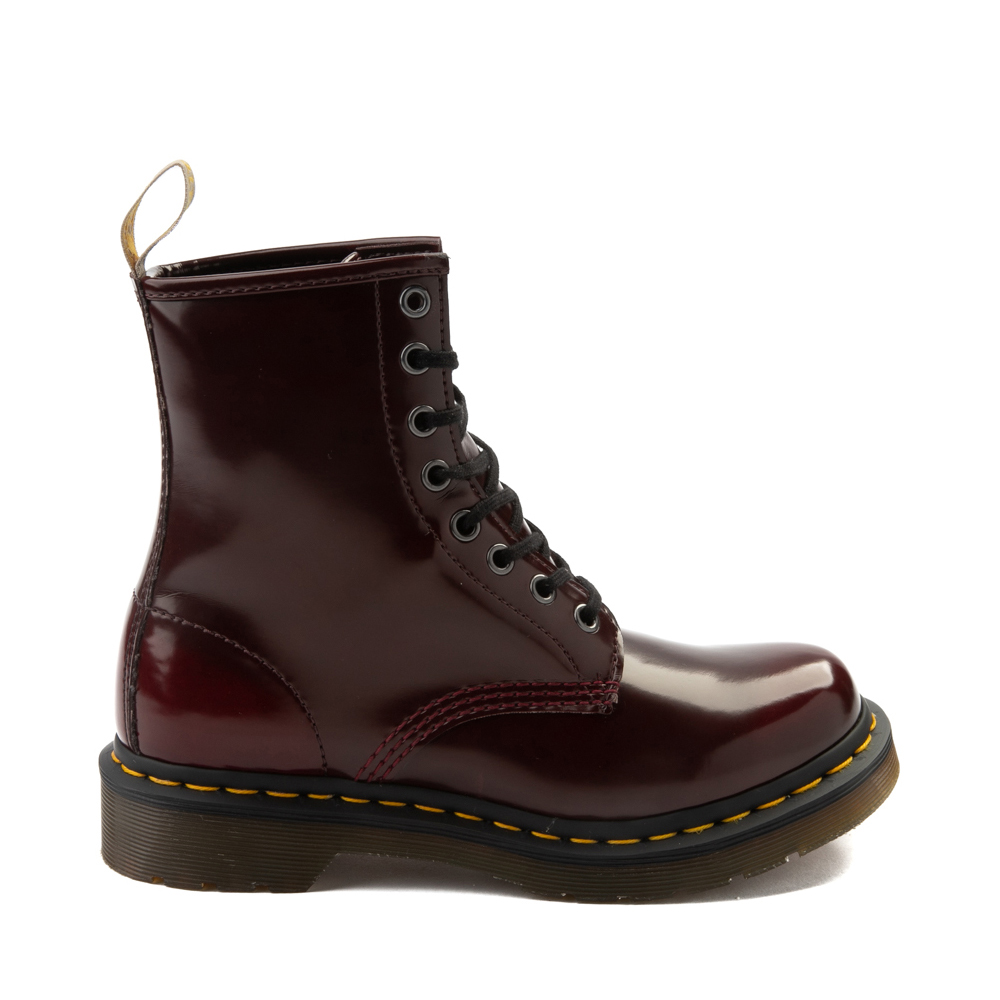 Womens Dr. Martens 1460 8-Eye Vegan Boot - Red