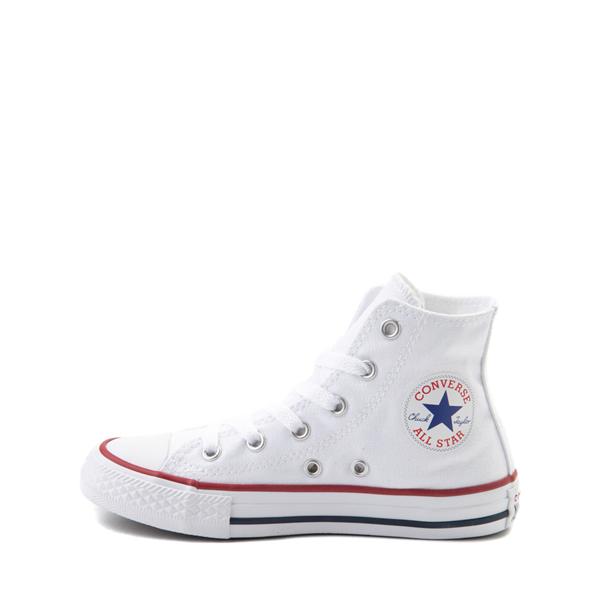alternate view Converse Chuck Taylor All Star Hi Sneaker - Little Kid - WhiteALT1