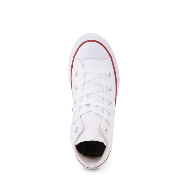 alternate view Converse Chuck Taylor All Star Hi Sneaker - Little Kid - WhiteALT2