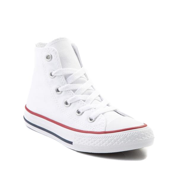 alternate view Converse Chuck Taylor All Star Hi Sneaker - Little Kid - WhiteALT5