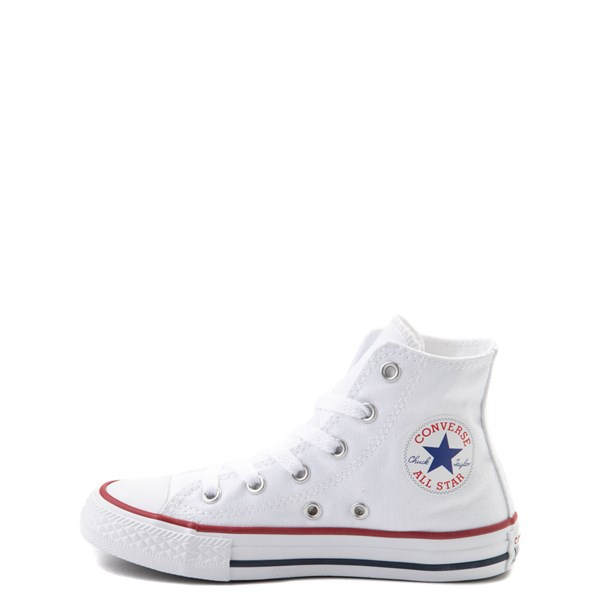 alternate view Converse Chuck Taylor All Star Hi Sneaker - Little Kid - WhiteALT1