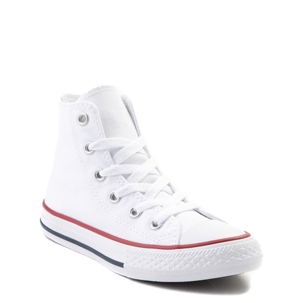 alternate view Converse Chuck Taylor All Star Hi Sneaker - Little Kid - WhiteALT1B