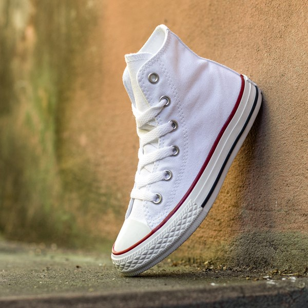 alternate view Converse Chuck Taylor All Star Hi Sneaker - Little Kid - WhiteALT1C
