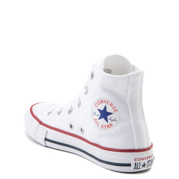 alternate view Converse Chuck Taylor All Star Hi Sneaker - Little Kid - WhiteALT2
