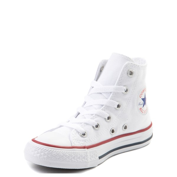 alternate view Converse Chuck Taylor All Star Hi Sneaker - Little Kid - WhiteALT3