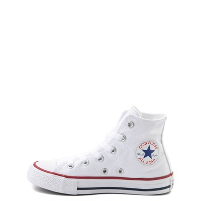 Alternate view of Converse Chuck Taylor All Star Hi Sneaker - Little Kid - White