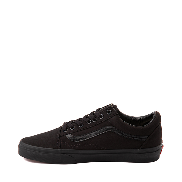 alternate view Vans Old Skool Skate Shoe - Black MonochromeALT1