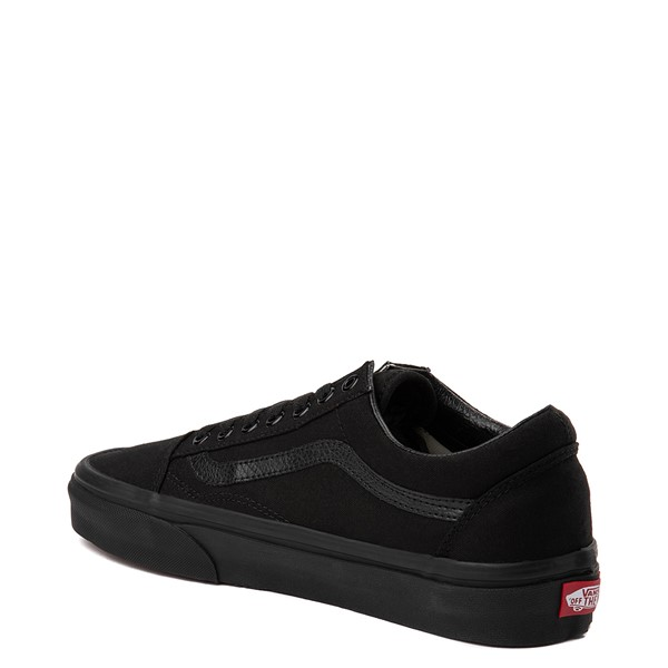 alternate view Vans Old Skool Skate Shoe - Black MonochromeALT1C
