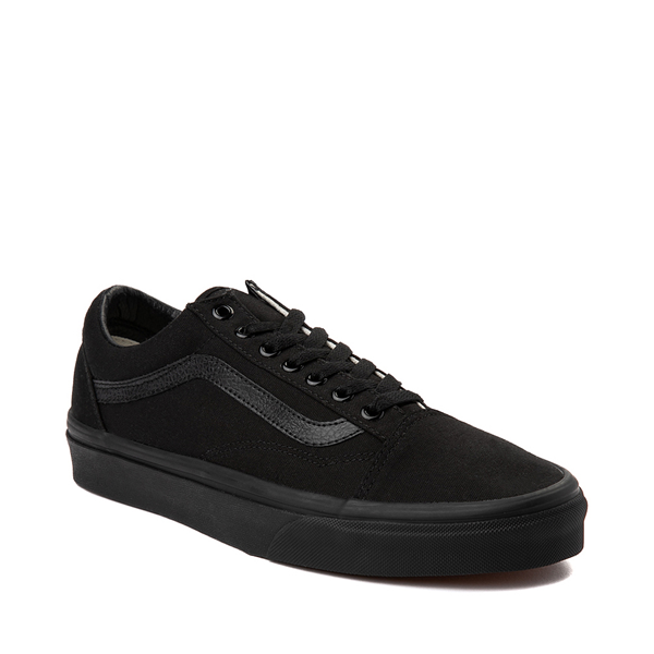alternate view Vans Old Skool Skate Shoe - Black MonochromeALT5