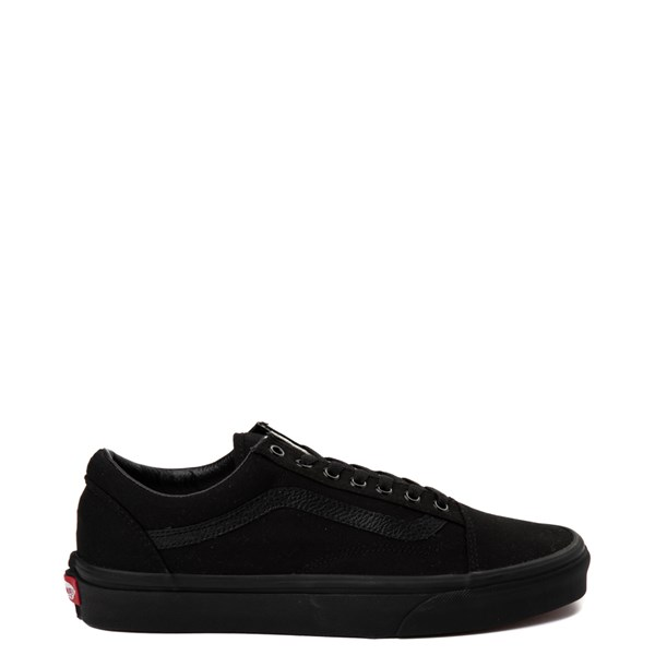 Default view of Vans Old Skool Skate Shoe - Black Monochrome