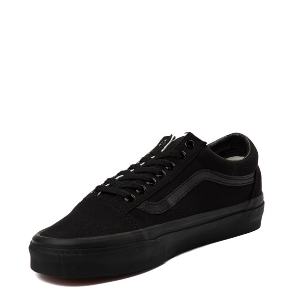 alternate view Vans Old Skool Skate Shoe - Black MonochromeALT2