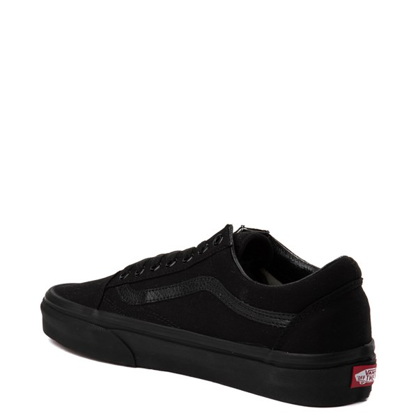 alternate view Vans Old Skool Skate Shoe - Black MonochromeALT3