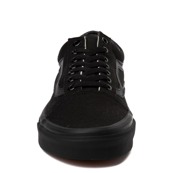 alternate view Vans Old Skool Skate Shoe - Black MonochromeALT4
