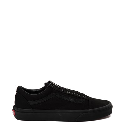 Main view of Vans Old Skool Skate Shoe - Black Monochrome