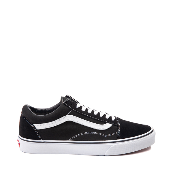 Default view of Vans Old Skool Skate Shoe - Black / White