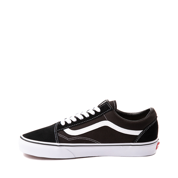 alternate view Vans Old Skool Skate Shoe - Black / WhiteALT1