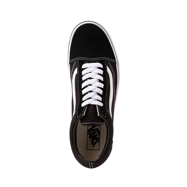 alternate view Vans Old Skool Skate Shoe - Black / WhiteALT2