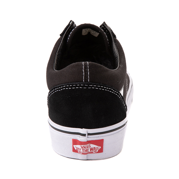 alternate view Vans Old Skool Skate Shoe - Black / WhiteALT4