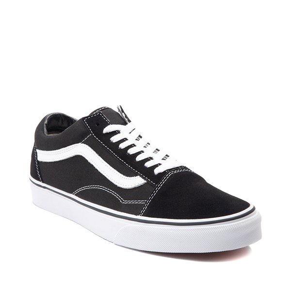 alternate view Vans Old Skool Skate Shoe - Black / WhiteALT5