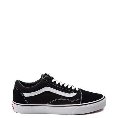 Main view of Black Vans Old Skool Skate Shoe