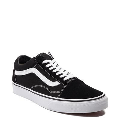 Alternate view of Black Vans Old Skool Skate Shoe