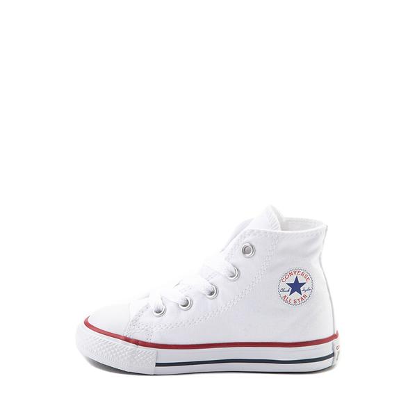 alternate view Converse Chuck Taylor All Star Hi Sneaker - Baby / Toddler - WhiteALT1