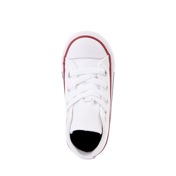 alternate view Converse Chuck Taylor All Star Hi Sneaker - Baby / Toddler - WhiteALT2