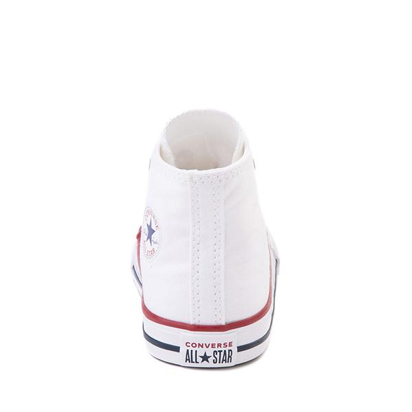 alternate view Converse Chuck Taylor All Star Hi Sneaker - Baby / Toddler - WhiteALT4