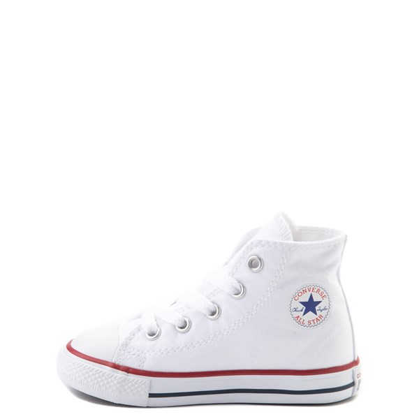 alternate view Converse Chuck Taylor All Star Hi Sneaker - Baby / Toddler - WhiteALT1