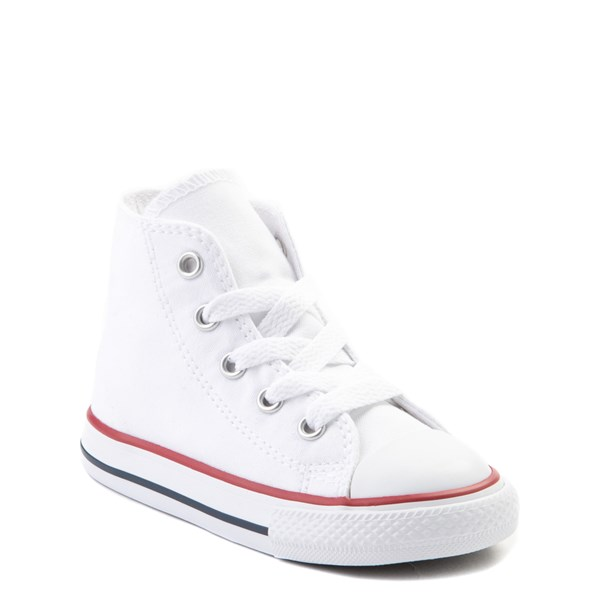 alternate view Converse Chuck Taylor All Star Hi Sneaker - Baby / Toddler - WhiteALT1B