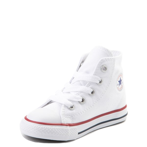 alternate view Converse Chuck Taylor All Star Hi Sneaker - Baby / Toddler - WhiteALT3