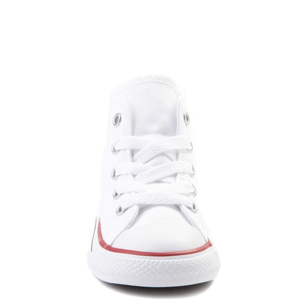 alternate view Converse Chuck Taylor All Star Hi Sneaker - Baby / Toddler - WhiteALT4