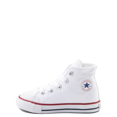 Alternate view of Converse Chuck Taylor All Star Hi Sneaker - Baby / Toddler - White