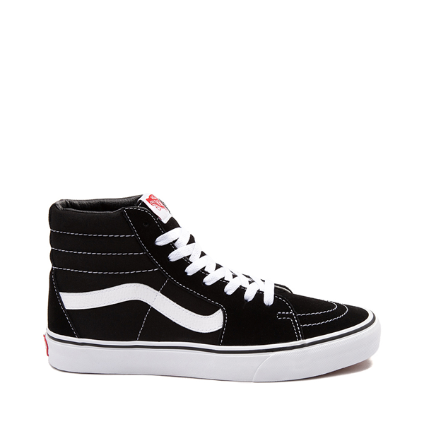 Main view of Vans Sk8 Hi Skate Shoe - Black