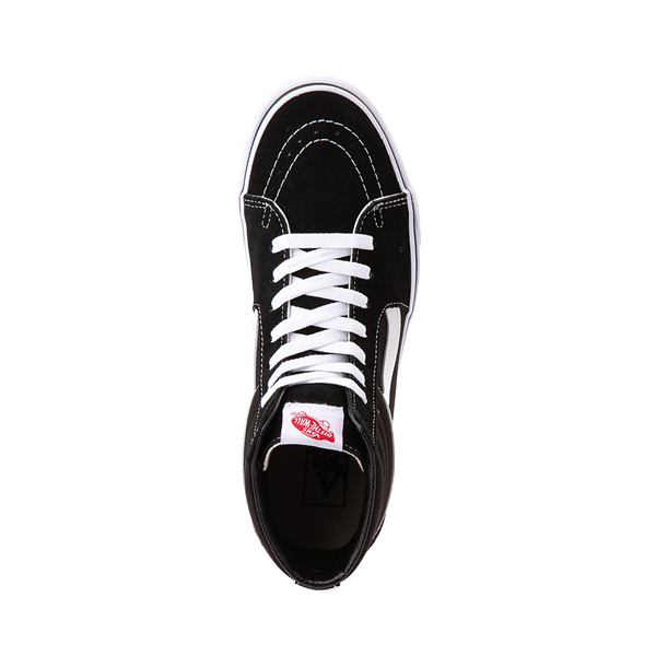 alternate view Vans Sk8 Hi Skate Shoe - Black / WhiteALT2