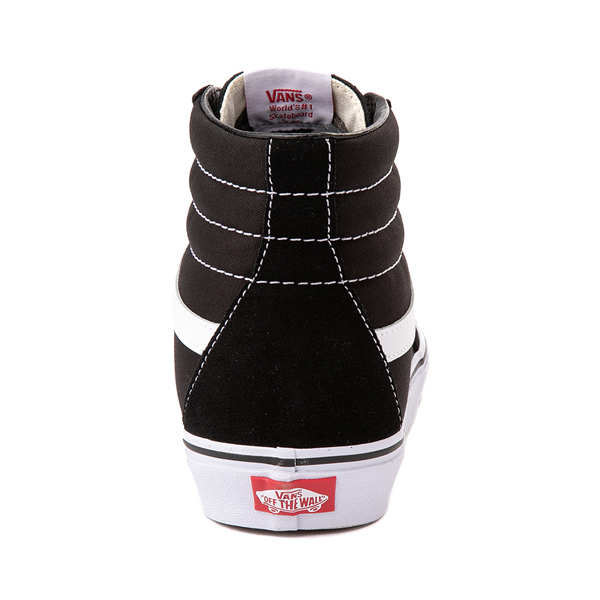 alternate view Vans Sk8 Hi Skate Shoe - Black / WhiteALT4