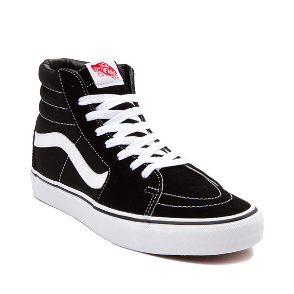 alternate view Vans Sk8 Hi Skate Shoe - Black / WhiteALT5