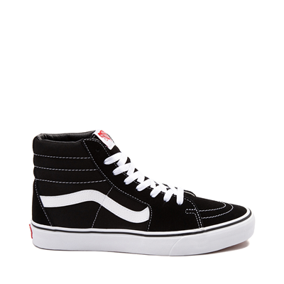 Main view of Vans Sk8 Hi Skate Shoe - Black / White